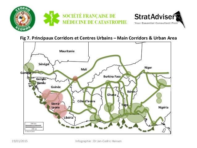Infographie  :  Dr  Jan-‐Cedric  Hansen   Fig  7.  Principaux  Corridors  et  Centres  Urbains  –...