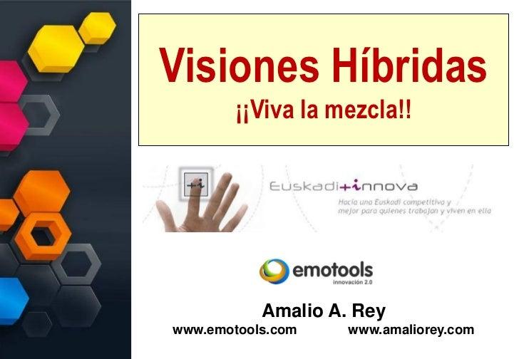 Visiones Híbridas        ¡¡Viva la mezcla!!           Amalio A. Reywww.emotools.com    www.amaliorey.com