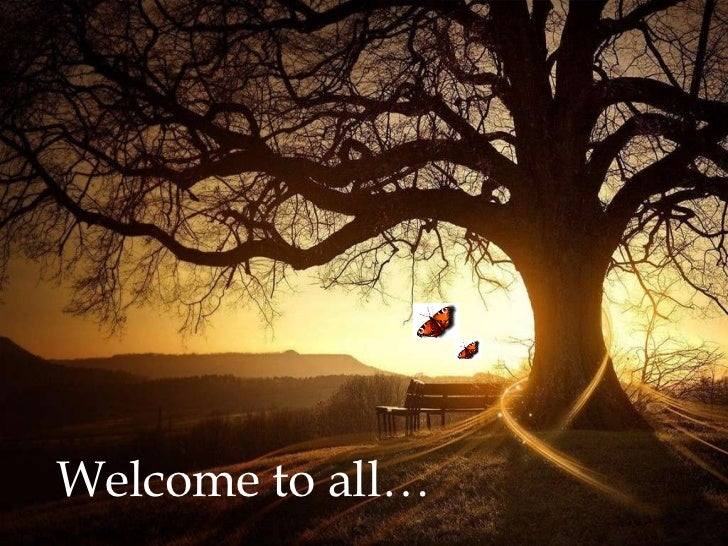 Welcome to all…