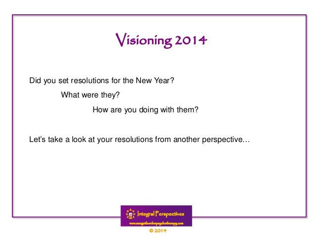 Did you set resolutions for the New Year? What were they? How are you doing with them?  Let's take a look at your resoluti...