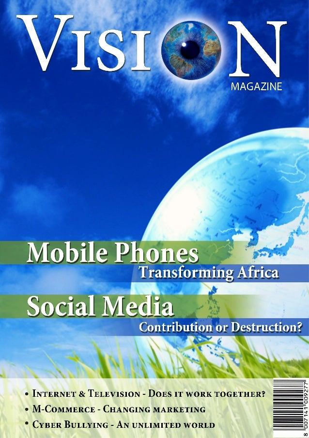 1  Vision Magazine  December 2013