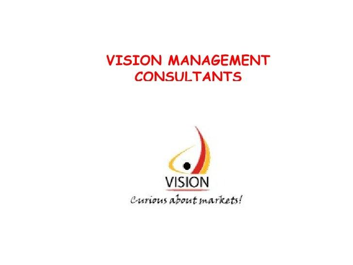 VISION MANAGEMENT   CONSULTANTS