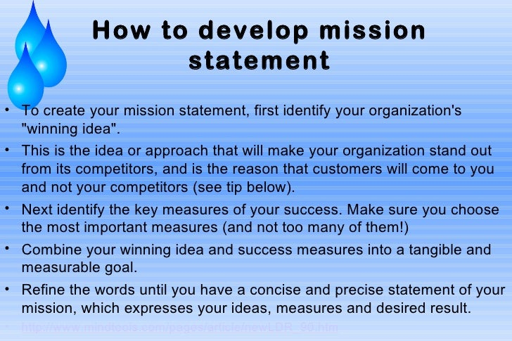 11 How To Develop Mission Statemento