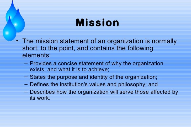 Non Profit Mission Statement Examples Idealstalist