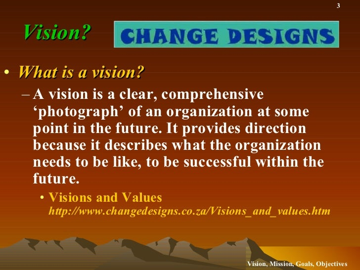 Vision Mission Goals and Objectives for the School Library Media Center Slide 3