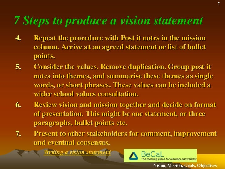Vision Mission Goals And Objectives Whats The Difference