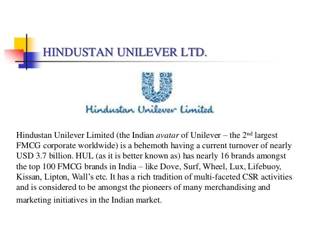 mission and vision of unilever To make money as is the case with all other business houses simple as that.