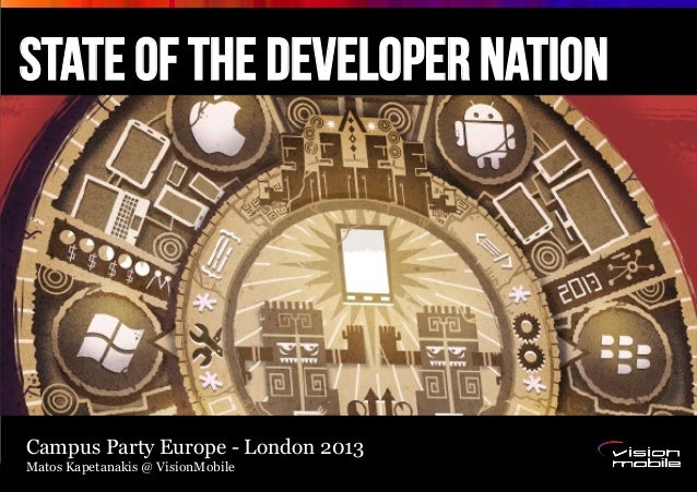 Page 1 State of the developer nation Confidential – Internal use only Campus Party Europe - London 2013 Matos Kapetanakis ...