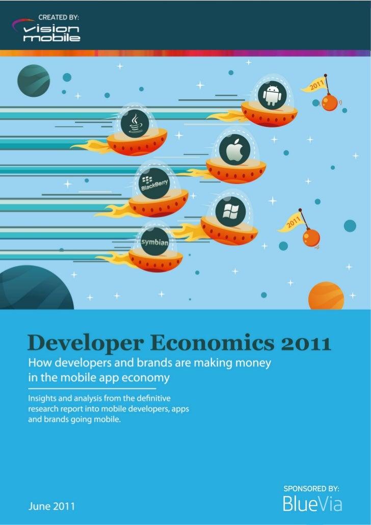 © VisionMobile 2011   www.DeveloperEconomics.com                                                   1