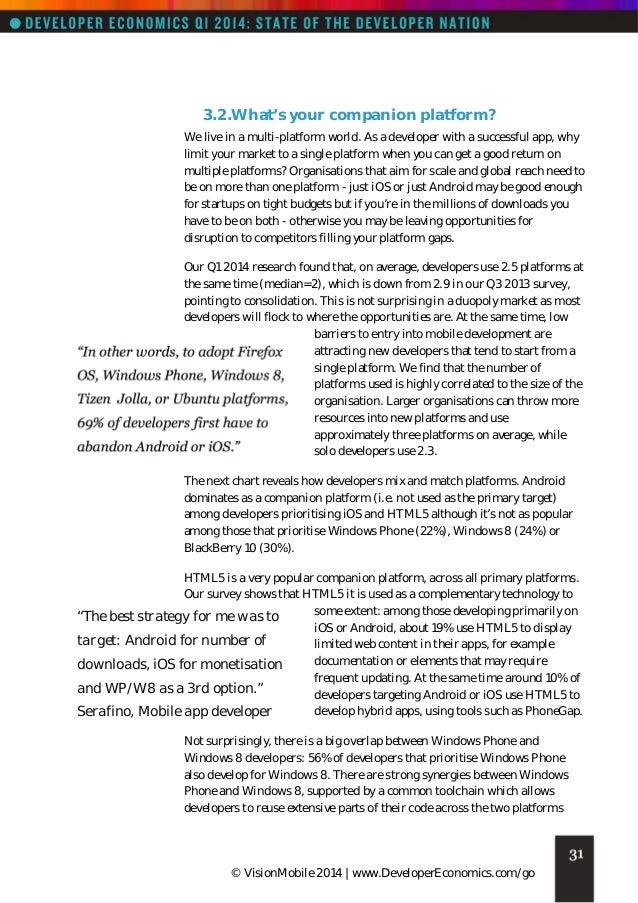 Vision mobile developer-economics_q1_2014