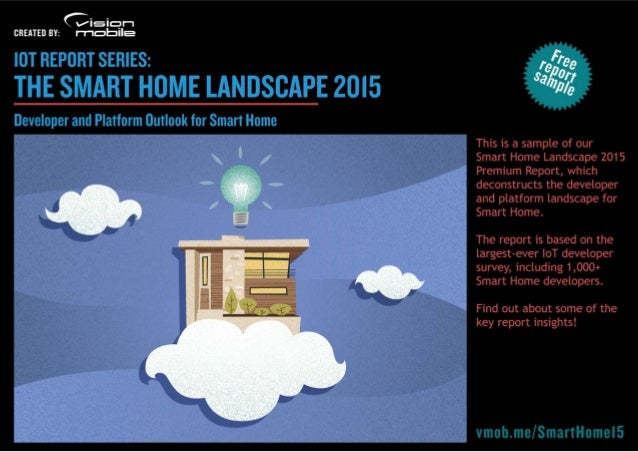 Smart Home Landscape 2015 - Sample Report