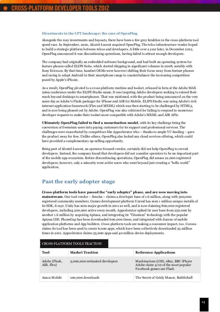 Vision mobile cross-platform_developer_tools_2012