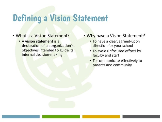 making a vision statement