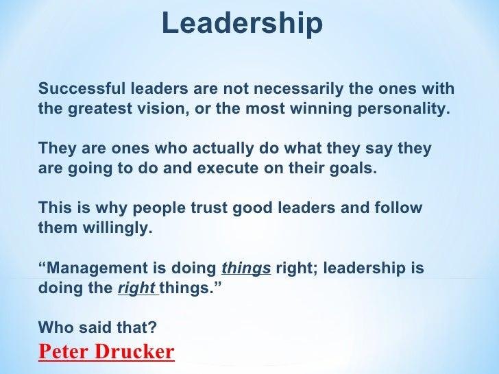 Vision Values And Leadership La 04 02 2012
