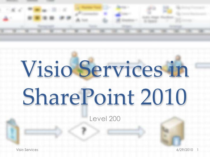 Visio Services in SharePoint 2010<br />Level 200<br />6/27/2010<br />1<br />Visio Services<br />