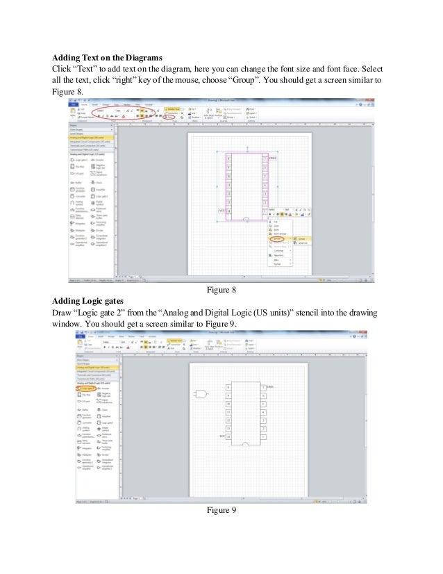 logic diagram in visio visio tutorial 2013  visio tutorial 2013