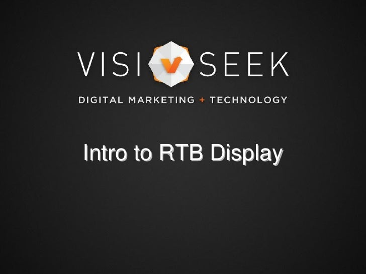 Intro to RTB Display