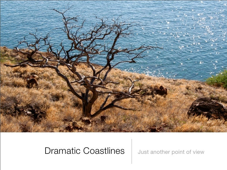 Dramatic Coastlines   Just another point of view
