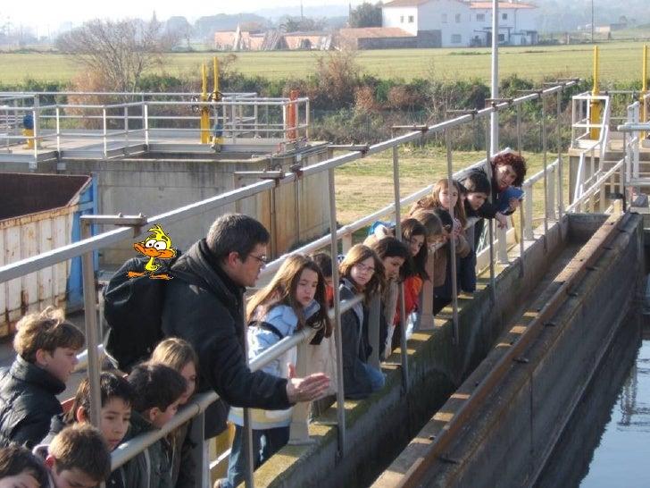 Visita a la depuradora de La Garriga Slide 3