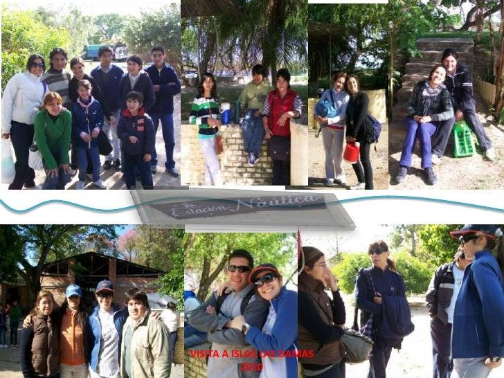 VISITA A ISLAS LAS DAMAS<br />2010<br />