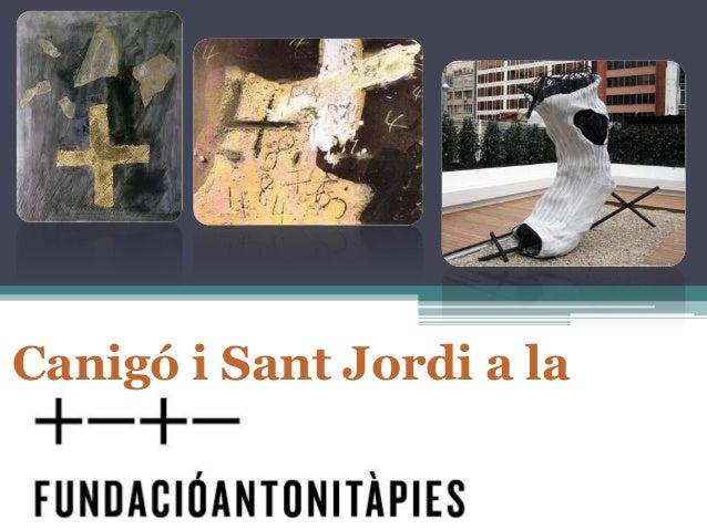 Canigó i Sant Jordi a la