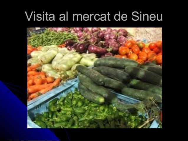 Visita al mercat de SineuVisita al mercat de Sineu