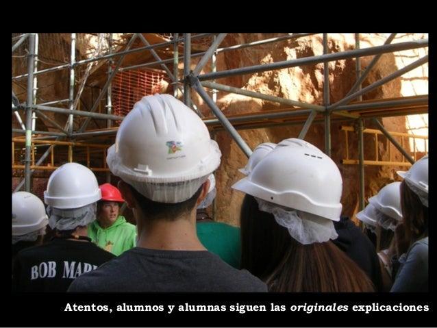 De los yacimientos, nos fuimos a Burgos:  un paseo, comida y, por la tarde, nos  queda otra visita interesante… (2ª parte)