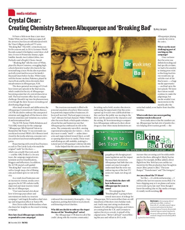 Creating Chemistry Between Albuquerque And Breaking Bad