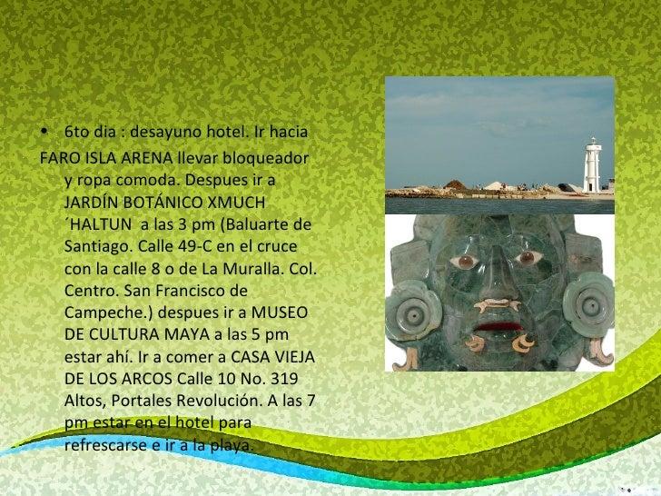 Visita campeche campeche for Jardin botanico xmuch haltun