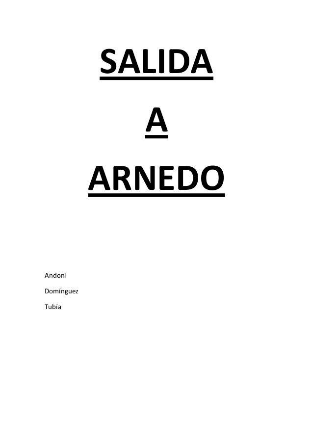 SALIDA               A             ARNEDOAndoniDomínguezTubía