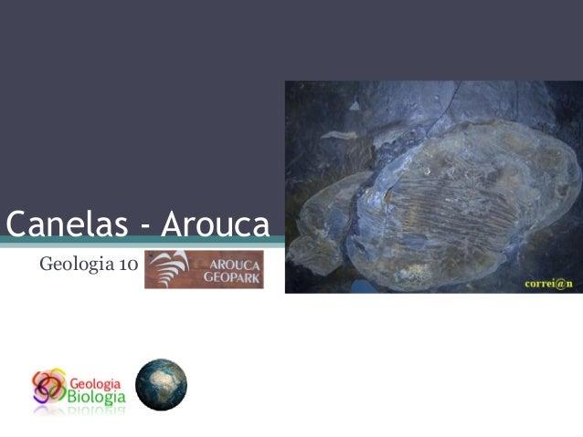 Canelas - Arouca Geologia 10