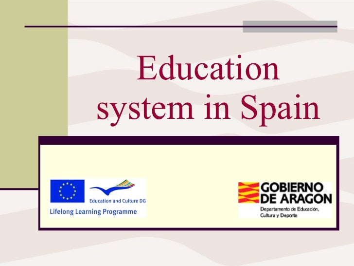 Education system in Spain