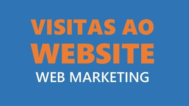 VISITAS AO WEBSITE WEB MARKETING