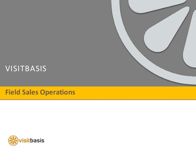 VISITBASIS Field Sales Operations