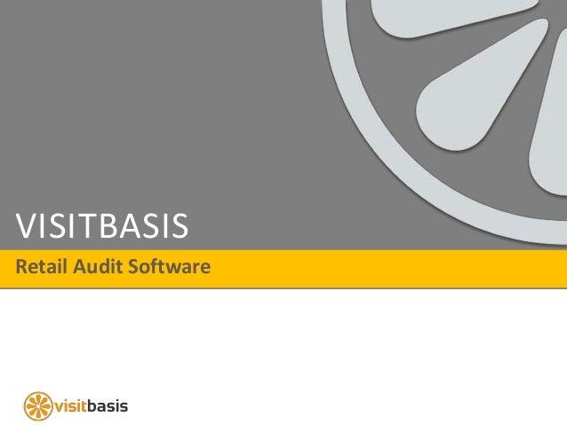 VISITBASIS Retail Audit Software