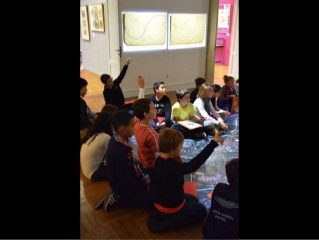 Visite de groupes scolaires de l' exposition histoire et patrimoine