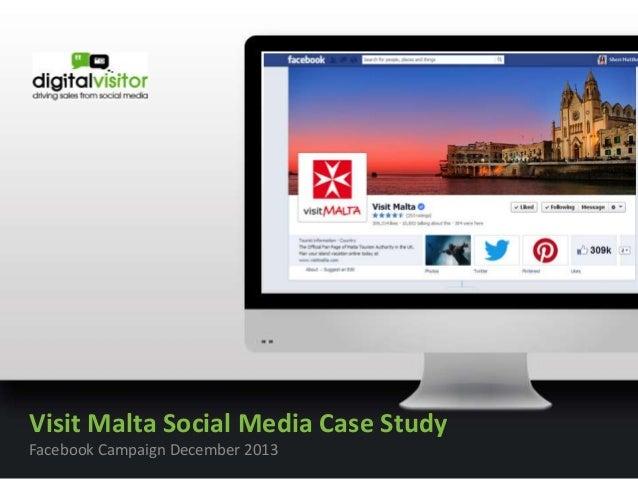 Malta content  Visit Malta Social Media Case Study Facebook Campaign December 2013