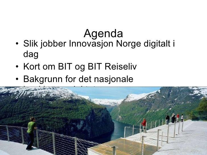 Visit norway og nasjonal booking Slide 3