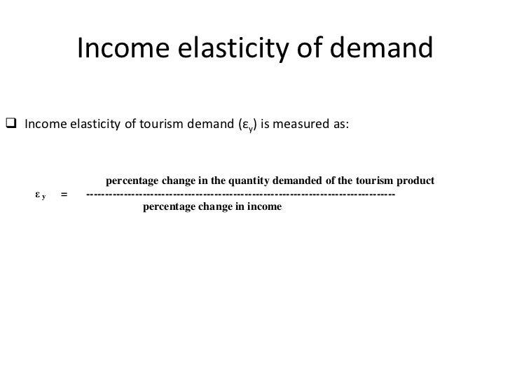 Visitor Economics Demand In Tourism