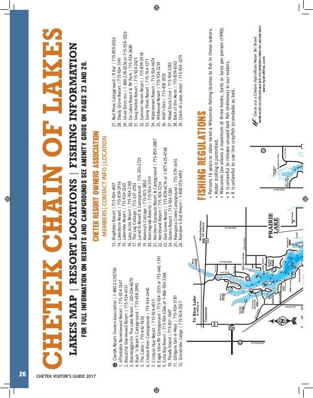 Chetek Visitor Guide 2017