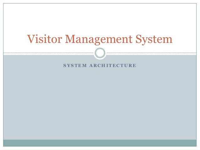 Visitor and vendor access management system