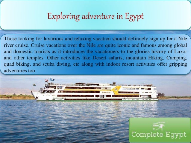Those looking for luxurious and relaxing vacation should definitely sign up for a Nile river cruise. Cruise vacations over...