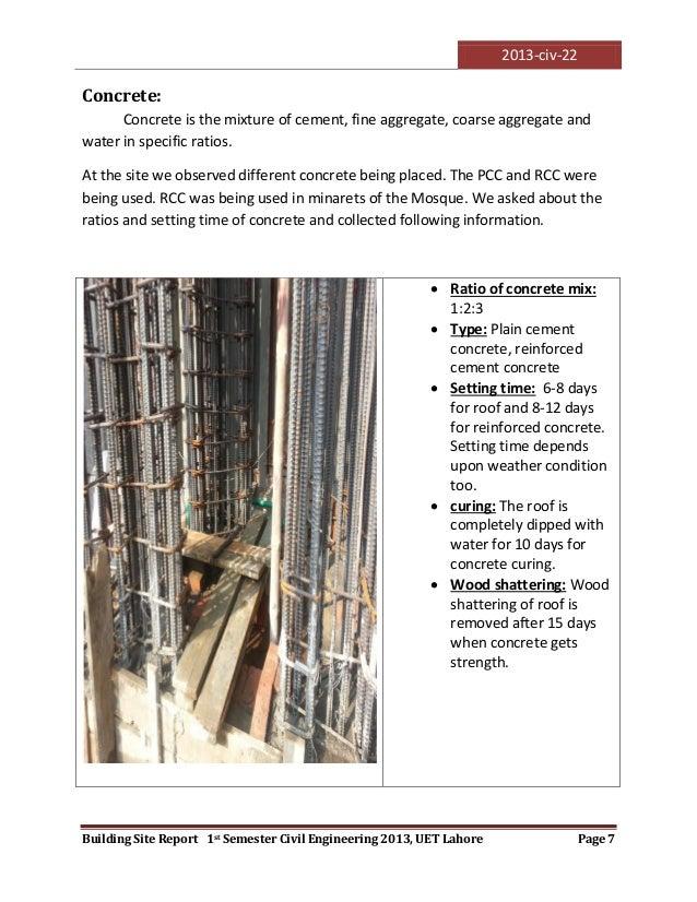 Visit to a construction site