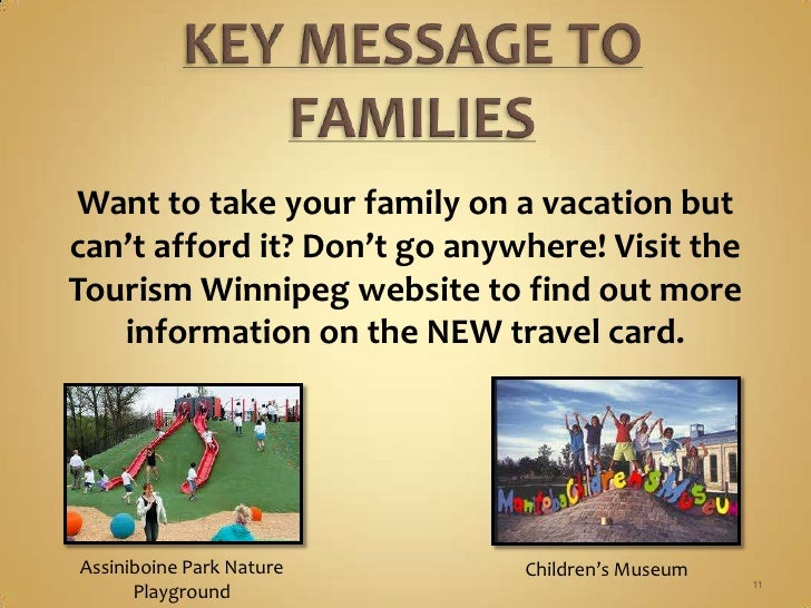 Tourism Winnipeg - Strategic PR Plan