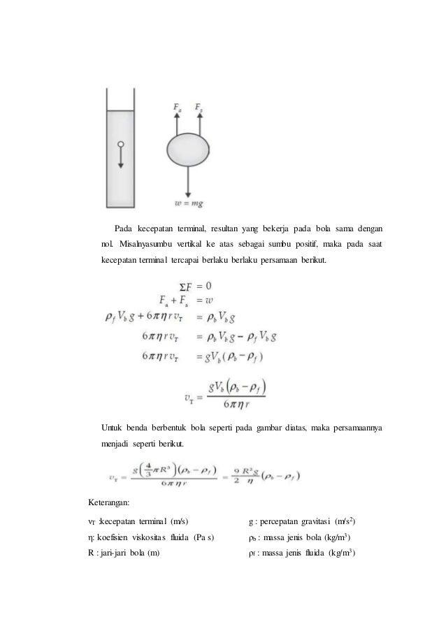 Kimia Fisika Ii Viskositas
