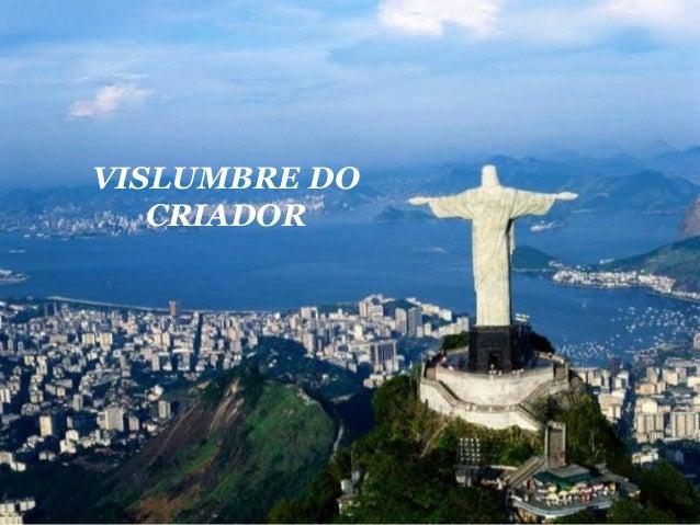 VISLUMBRE DO CRIADOR