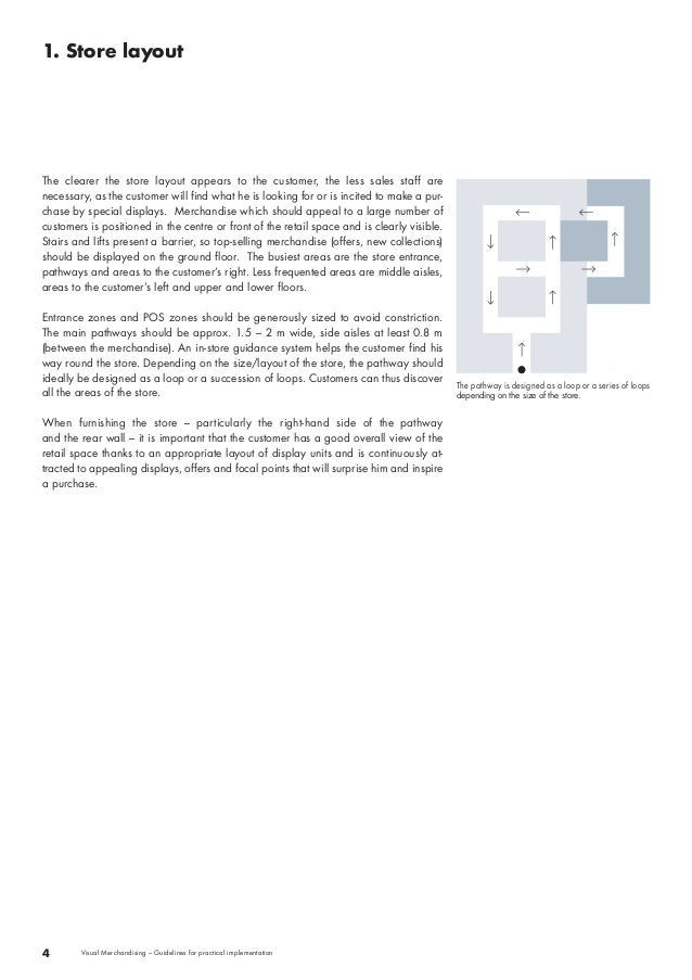 The clearer the store layout appears to the customer, the less sales staff are  necessary, as the customer will find what ...