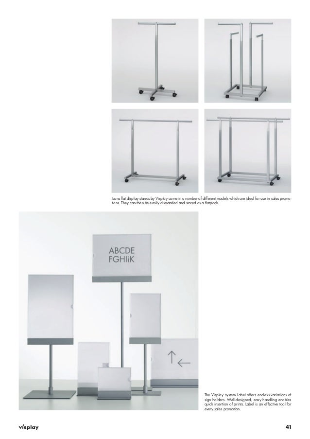 Merchandising Display Stands Visplay Visual Merchandising Guidelines 33