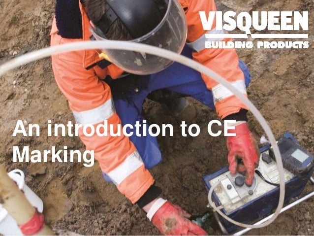 An introduction to CE Marking