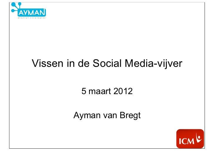 Vissen in de Social Media-vijver          5 maart 2012        Ayman van Bregt